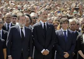 Spanish Official participate in Minute of Silence