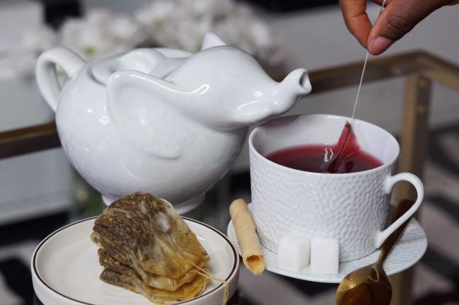 Tea bags are reusable