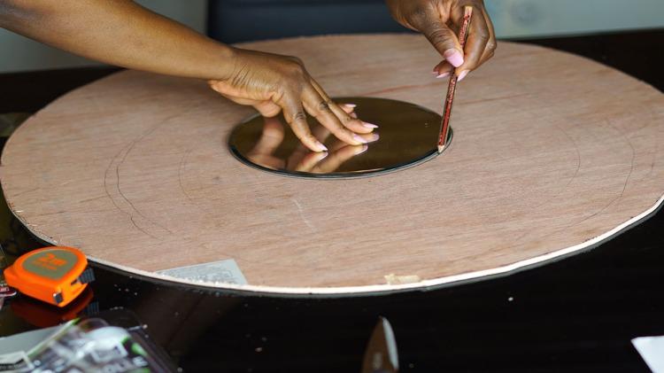 Measuring a mirror