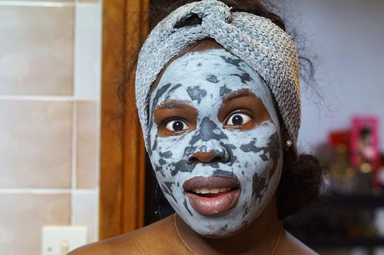 Clay mud mask