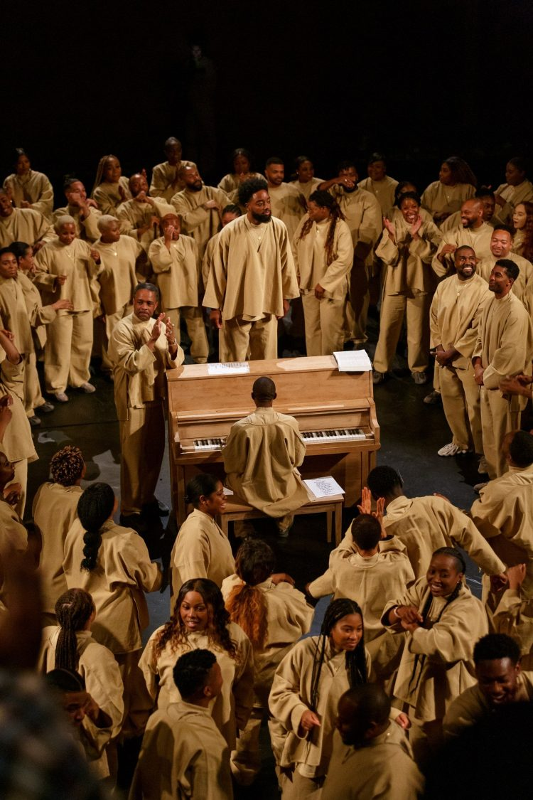 Kanye Sunday Service Ministration