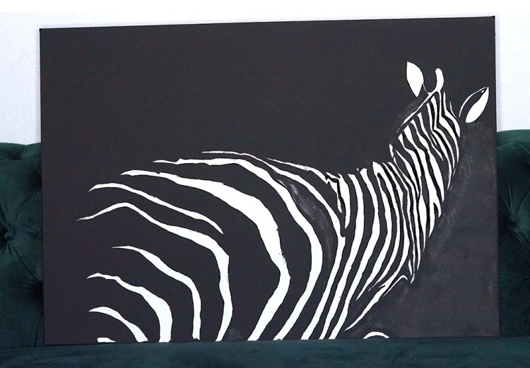 Zebra balck and white resized