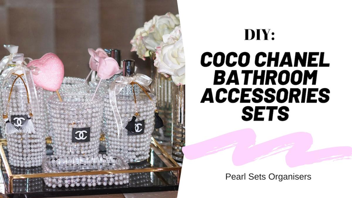 Coco chanel bathroom sets