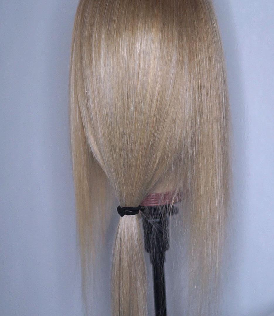 Blonde beautiful wig